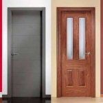 puerta paso moderna