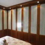 frente armario nogal cortina