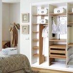 interior armario blanco