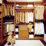 interior vestidor caoba