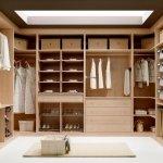 interior vestidor maple