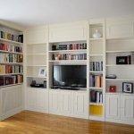 libreria lacada blanca