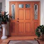 puerta madera clasica
