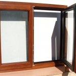 ventana madera aluminio