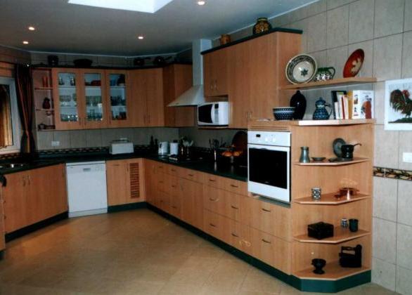 Muebles de cocina for Modelos de zapateras de melamina