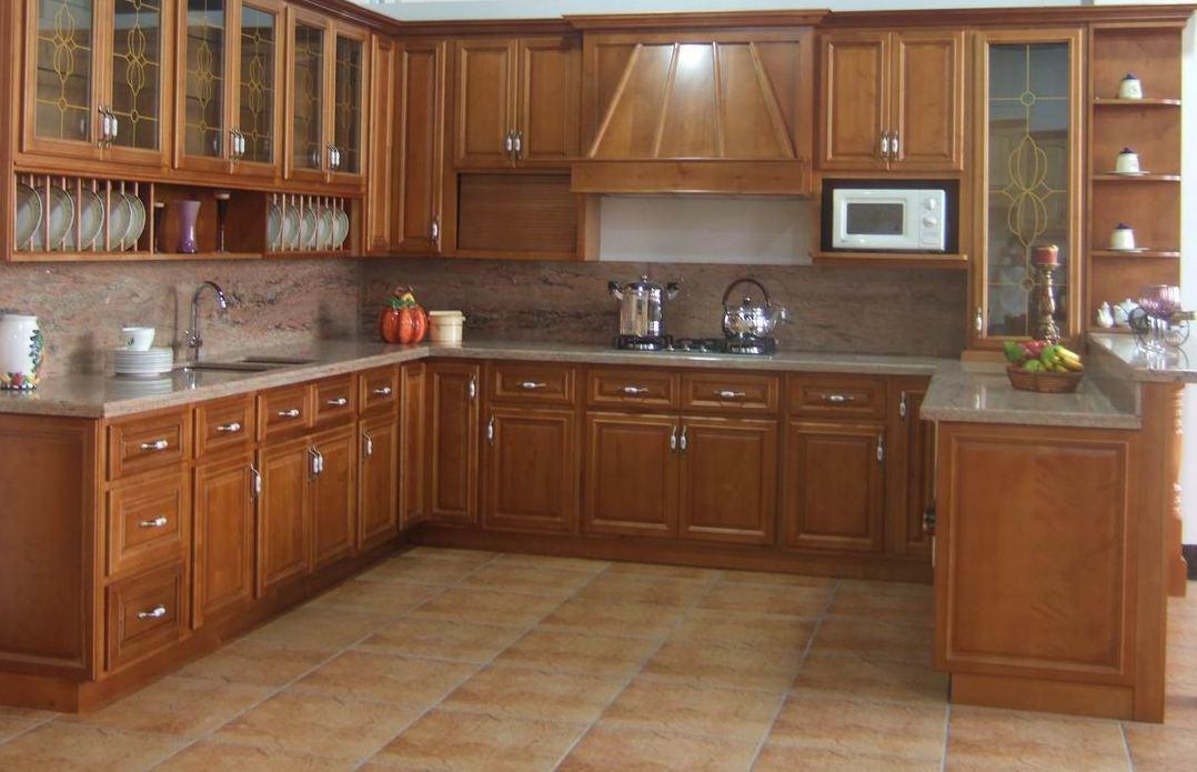 Muebles de cocina for Muebles de cocina de madera modernos