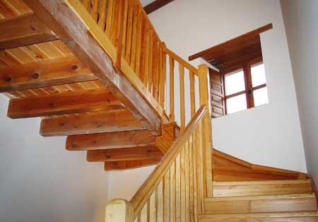 Escaleras de madera - Escaleras de madera rusticas ...