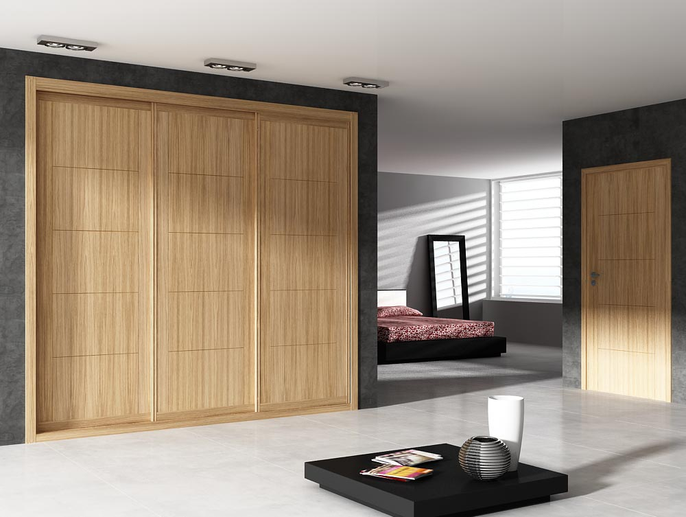 Frentes de armario for Muebles empotrados para dormitorios