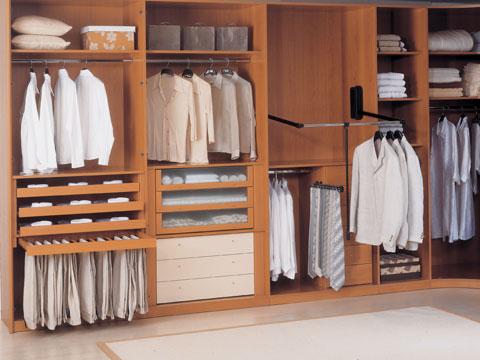 Interiores de armario for Interior de armarios ikea