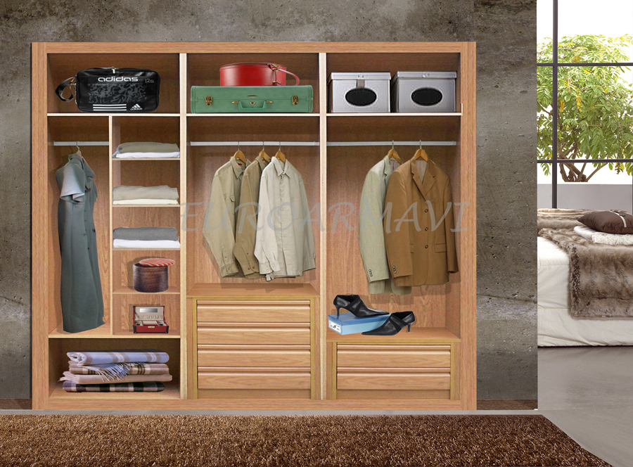 Interiores de armario - Fotos de armarios empotrados por dentro ...