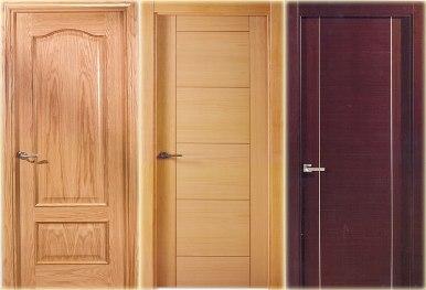 Puertas de madera for Puertas de madera para interiores