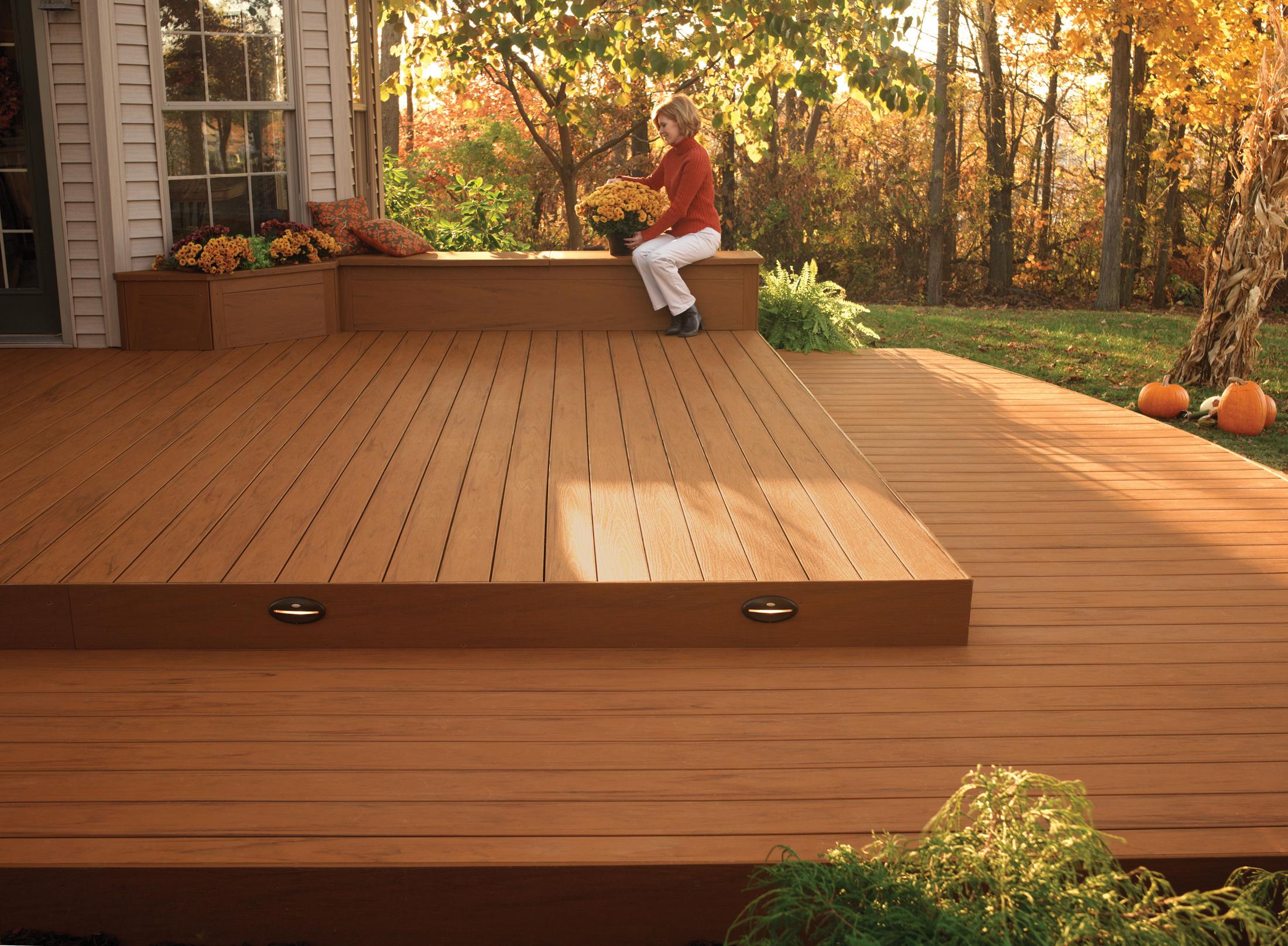 Tarimas y parquets de madera - Tarima de exterior ...